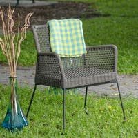 MIX Double-braid Polyester Regatta Rope Square Weave Armchair