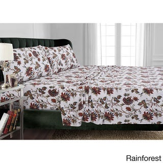 Flannel 170-GSM Printed Pillowcases (Set of 2)