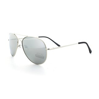 Epic Eyewear Classic Aviator Reflective Mirrored Lens Sunglasses