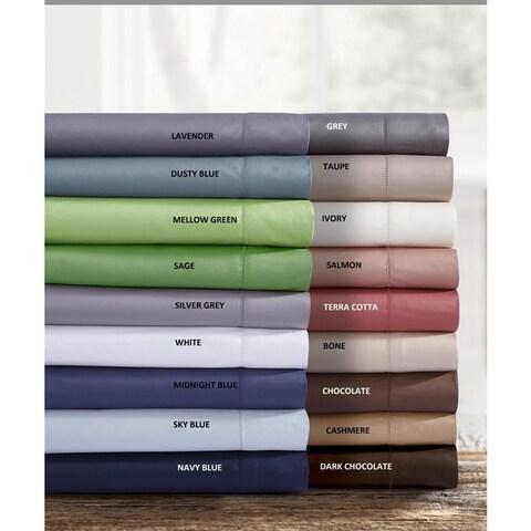 Egyptian Cotton 750 Thread Count Pillowcases (Set of 2)