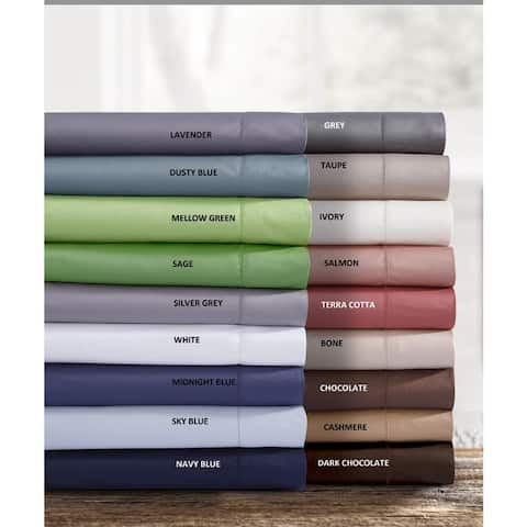 750 Thread Count Cotton Sateen Pillowcases (Set of 2)
