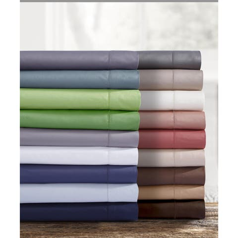 Egyptian Cotton 750 Thread Count Pillowcases (Set of 2)