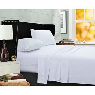 Egyptian Cotton Sateen 400 Thread Count Pillowcases (Set of 2)