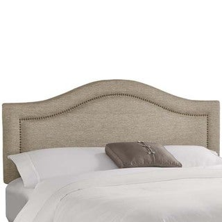 Skyline Furniture Groupie Latte Inset Nail Button Headboard