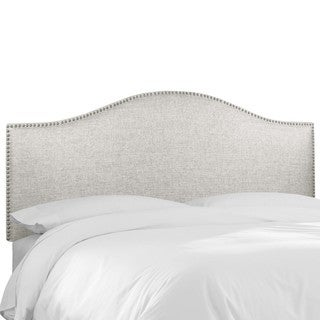 Skyline Furniture Groupie Oyster Nail Button Headboard
