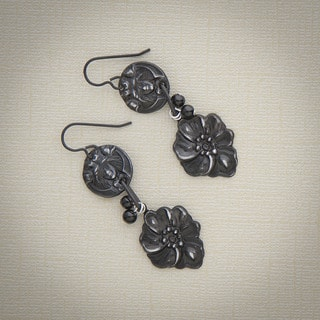Noveau Floret Dangle Earrings