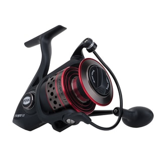 Penn Fierce Ii Spinning Reel 8000 5.3:1 Gear Ratio 5 Bearings 25-pound Max Drag Ambidextrous Clam Package