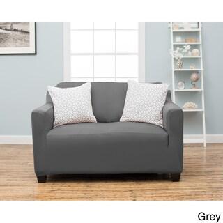 Home Fashion Designs Twill Loveseat Slipcover