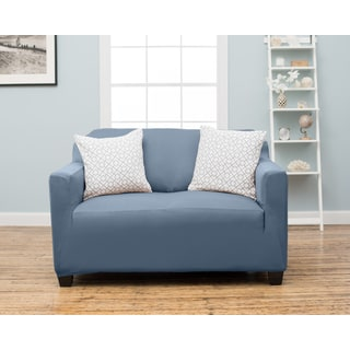 Home Fashion Designs Dawson Collection Twill Form Fit Love Seat Protector Slip Cover