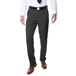 Ferrecci Premium Men's Charcoal Regular Fit Pants