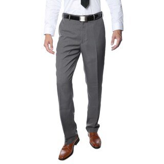 Ferrecci Premium Men's Grey Regular Fit Pants