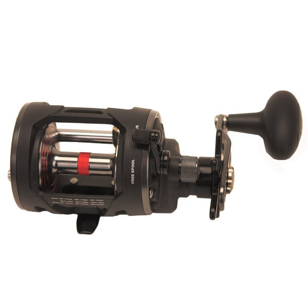 Penn Warfare Level Wind Reel 20 5.1:1 Gear Ratio 3 Bearings 15-pound Max Drag Right Hand Boxed