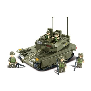 Sluban Interlocking Bricks Merkava Tank