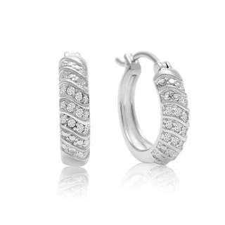 1/4 Carat 4-Row Diamond Hoop Earrings, 1/2 Inch|https://ak1.ostkcdn.com/images/products/10889345/P17924236.jpg?impolicy=medium