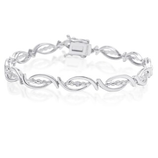 Diamond Accent Flair Bracelet, 7 Inches
