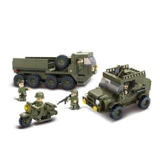 Sluban Interlocking Bricks Service Troops