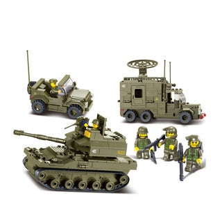 Sluban Interlocking Bricks United Military Exercise