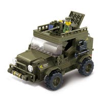 Sluban Interlocking Bricks Army Jeep