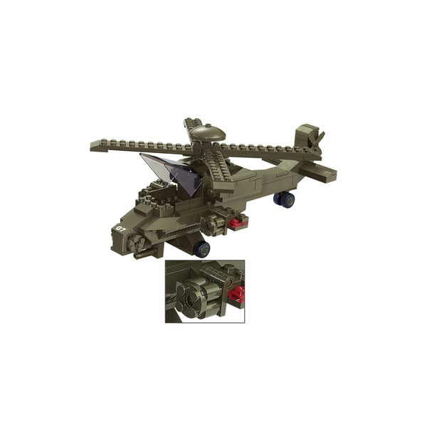Sluban Interlocking Bricks Hind Helicopter