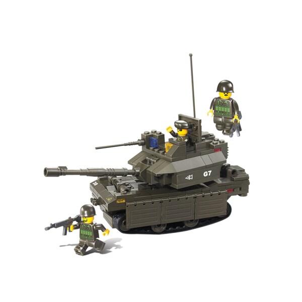 Sluban Interlocking Bricks M1a2 Abrams Tank