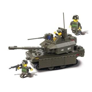 Sluban Interlocking Bricks Leopard 2a6m