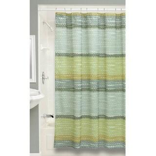 Rhythm Fabric Shower Curtain
