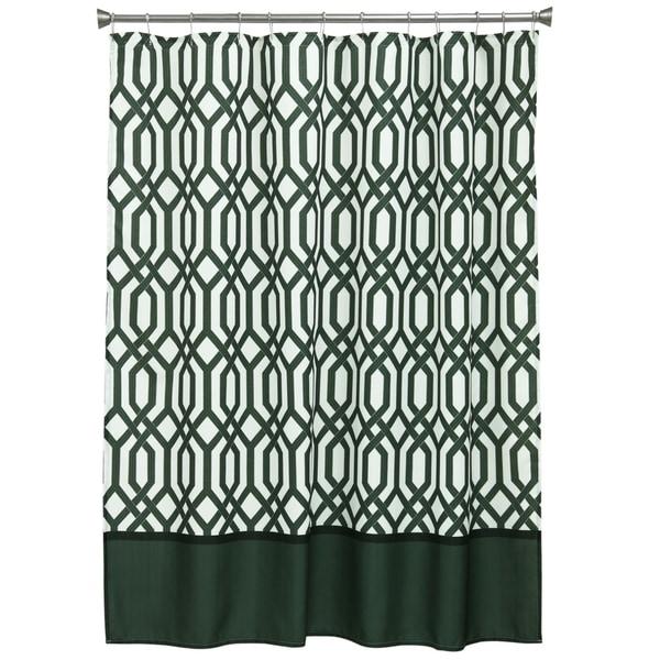 Theorem Fabric Shower Curtain