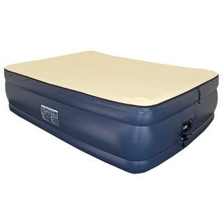 Airtek Foundation Collection Queen-size Flocked Top Airbed