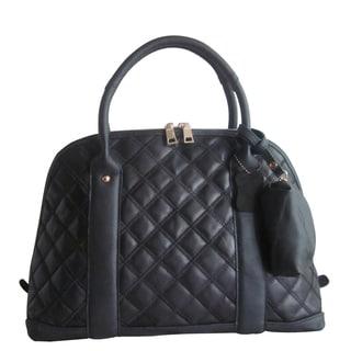 Amerileather Black Olivia Handbag (1787-0)