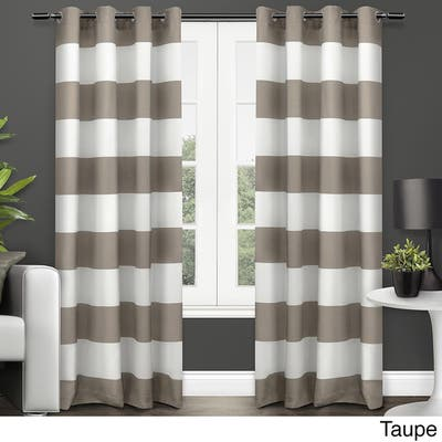 96 Inches Stripe Curtains D