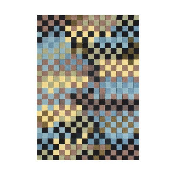 Alliyah Handmade Forest Green New Zealand Blend Wool Rug (8' x 10')