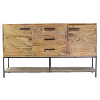Elegant Reclaimed Three (3) Drawer Sideboard