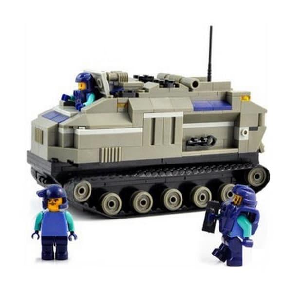 Sluban Interlocking Bricks Armored Vehicle