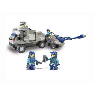 Sluban Interlocking Bricks Artillery Tractor