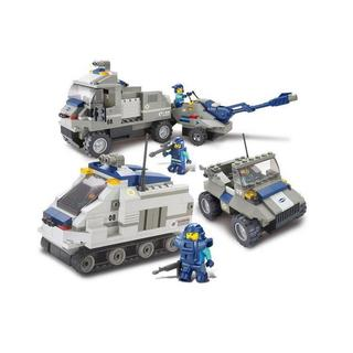 Sluban Interlocking Bricks Armored Artillery