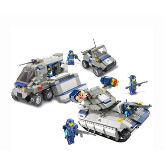 Sluban Interlocking Bricks Elite Sniper Force
