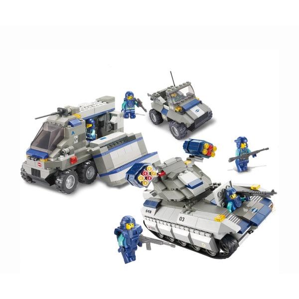 Sluban Interlocking Bricks Elite Sniper Force