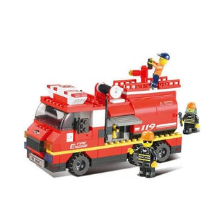 Sluban Interlocking Bricks Fire Engine