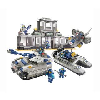 Sluban Interlocking Bricks Headquarters Special Force (Option: Multi)