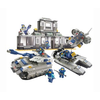 Sluban Interlocking Bricks Headquarters Special Force