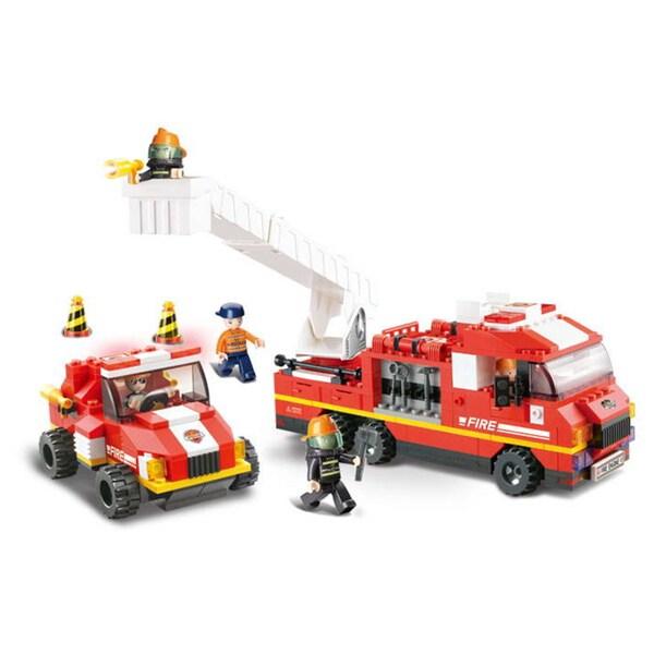 Sluban Interlocking Bricks Special Fire Brigade