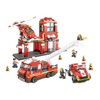 Sluban Interlocking Bricks Fire Fighter Mass Dispatch