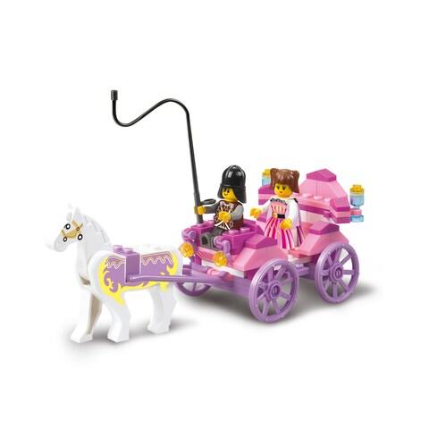 Sluban Interlocking Bricks Princess Carriage