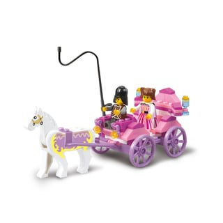 Sluban Interlocking Bricks Princess Carriage