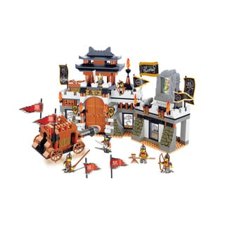 Sluban Interlocking Bricks Changsha Battle Set