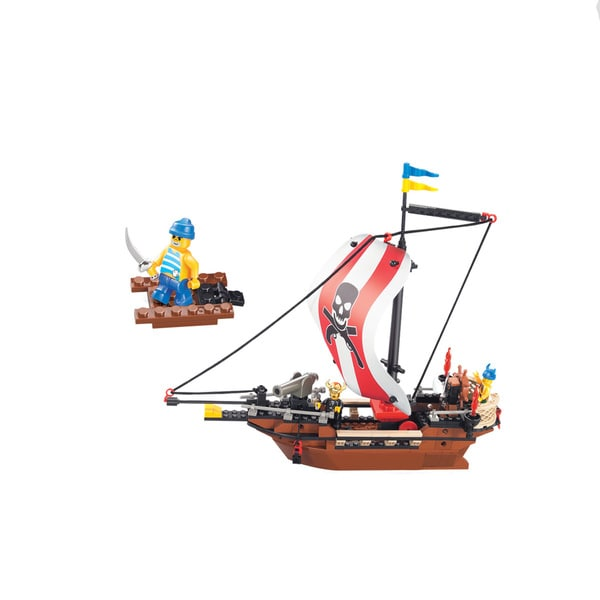 Sluban Interlocking Bricks Warriors Set