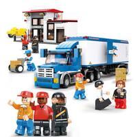 Sluban Interlocking Bricks Heavy Duty Truck