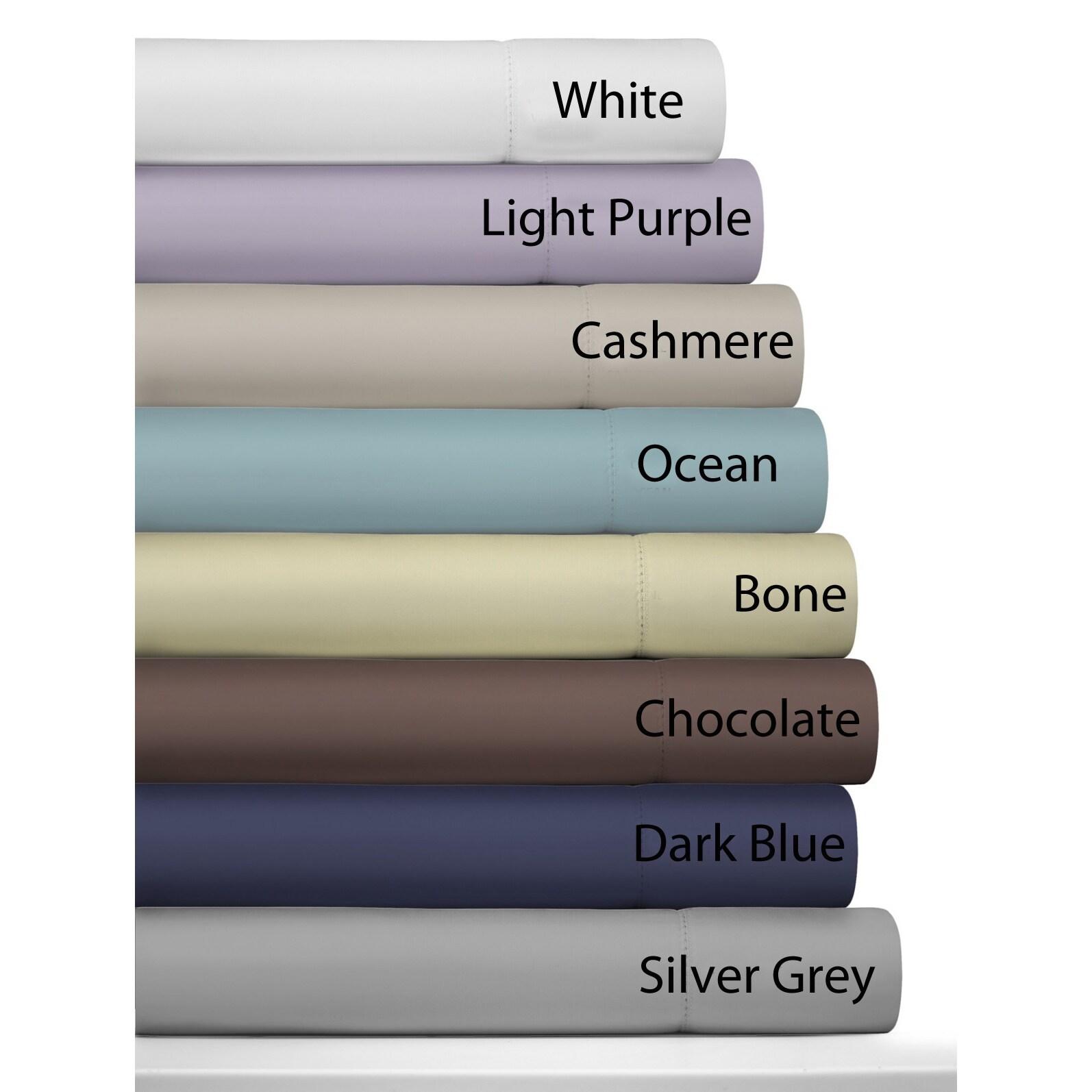 Ivory 500TC-SDPC-IVORY Pointehaven 500-Thread Count 100-Percent Egyptian Cotton Standard Pair Pillowcases