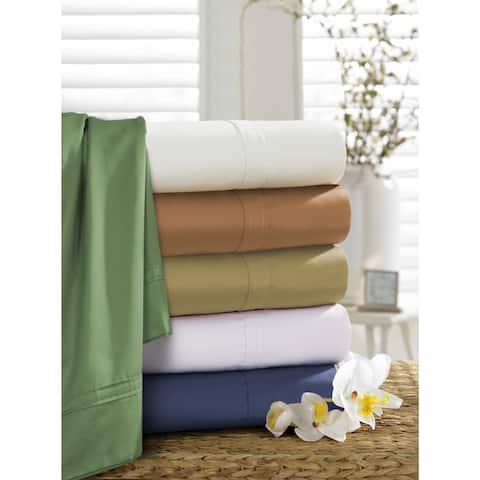 Egyptian Cotton Sateen 500 Thread Count Oversized Pillowcases (Set of 2)
