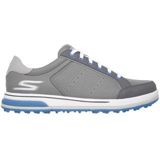 Men's Skechers GO GOLF Drive 2 Sneaker Charcoal/Blue